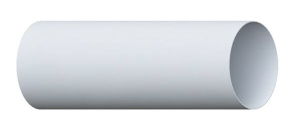 Труба 95мм 3м Альта-Профиль белая