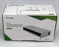 LAN SWITCH Pix-Link LV-SW08 на 8 портов