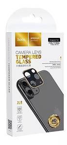 Защитное стекло для камеры Hoco 3D Metal for iPhone 11 Pro (2019)/11 Pro Max (2019) Золото