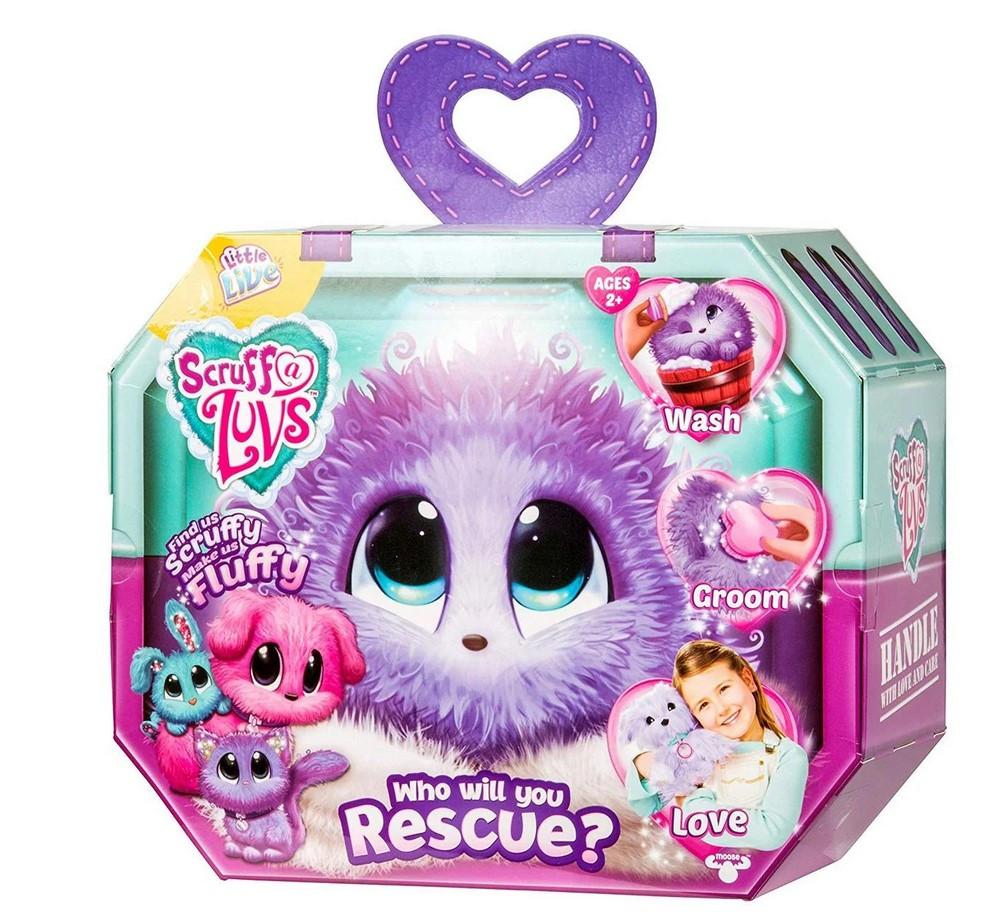 Мягкая игрушка-сюрприз Scruff A Luvs | Няшка-потеряшка Литл Лайф Аква