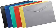 Папки-конверты пластиковые