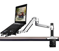 """Настольный кронштейн для ноутбука/монитора 17""""Алюминиевый сплав Нагрузка до 10кг"""