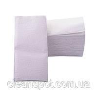Полотенца бумажные V Lux белые 2-шар 150шт Eco Point, фото 3