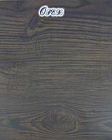 Металлосайдинг Блок Хаус Орех. Металлосайдинг под бревно Орех., фото 1