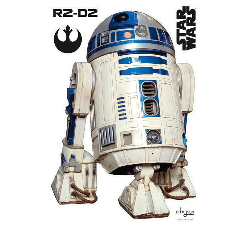 Наклейки STAR WARS - R2D2 (блистер)