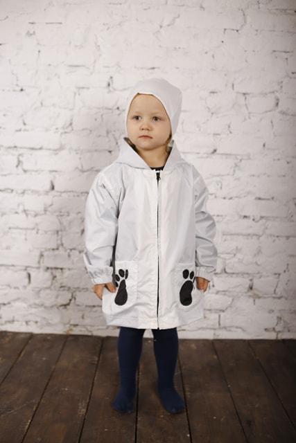 Куртка-рюкзак (дождевик) с шапочкой Панда (446)