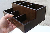 Подставка 6 отделений, для чайных пакетиков, сахара, палочек