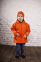"""Куртка-рюкзак (дощовик) з шапочкою """"Тигреня"""", фото 1"""
