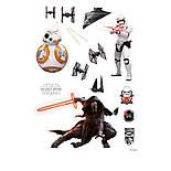 """Наклейки STAR WARS """"The Force Awakens"""" (""""Пробуждение силы"""") (блистер 100x70см), фото 3"""