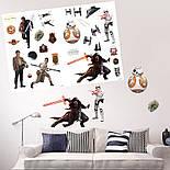 """Наклейки STAR WARS """"The Force Awakens"""" (""""Пробуждение силы"""") (блистер 100x70см), фото 4"""