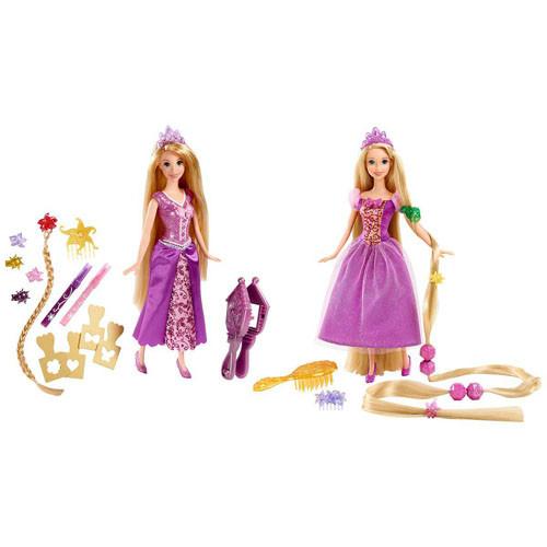"""Кукла Дисней принцесса Рапунцель """"Игра с волосами"""""""