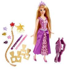 """Кукла Дисней принцесса Рапунцель """"Игра с волосами"""", фото 2"""