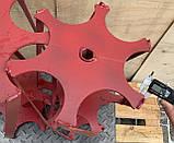 Активная роторная борона на мотоблок 24мм, фото 3