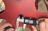 Активная роторная борона на мотоблок 24мм, фото 5