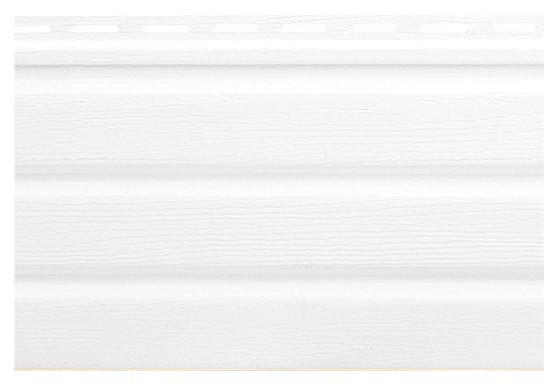 Панель софит Alta-Siding 3.00х0.230 м Белый. Карнизная подшивка.