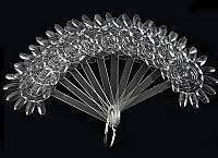 Планшет-квітка для зразків 10шт прозорий
