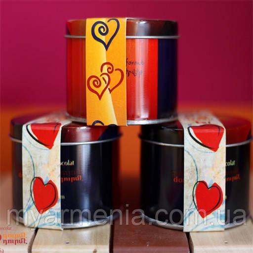 Оловянная коробка I love You из Армении