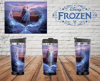 Термостакан Холодное сердце Анна и Эльза / Frozen