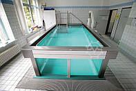 Физиотерапевтический бассейн Hospitec Hanau Glass 4x2m