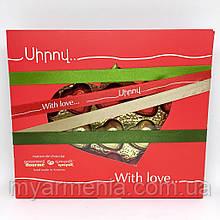 """Шоколадний набір з Вірменії """"З любов'ю"""""""