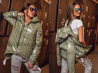 ВВ2555 Ультрамодная женская весенняя куртка норма и батал разные цвета 42-60 рр, фото 1
