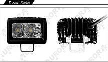 Дополнительная светодиодная фара ALO-L-2 10W Сree 9-36V  IP69  1100 Люмен, Дальний свет , фото 2