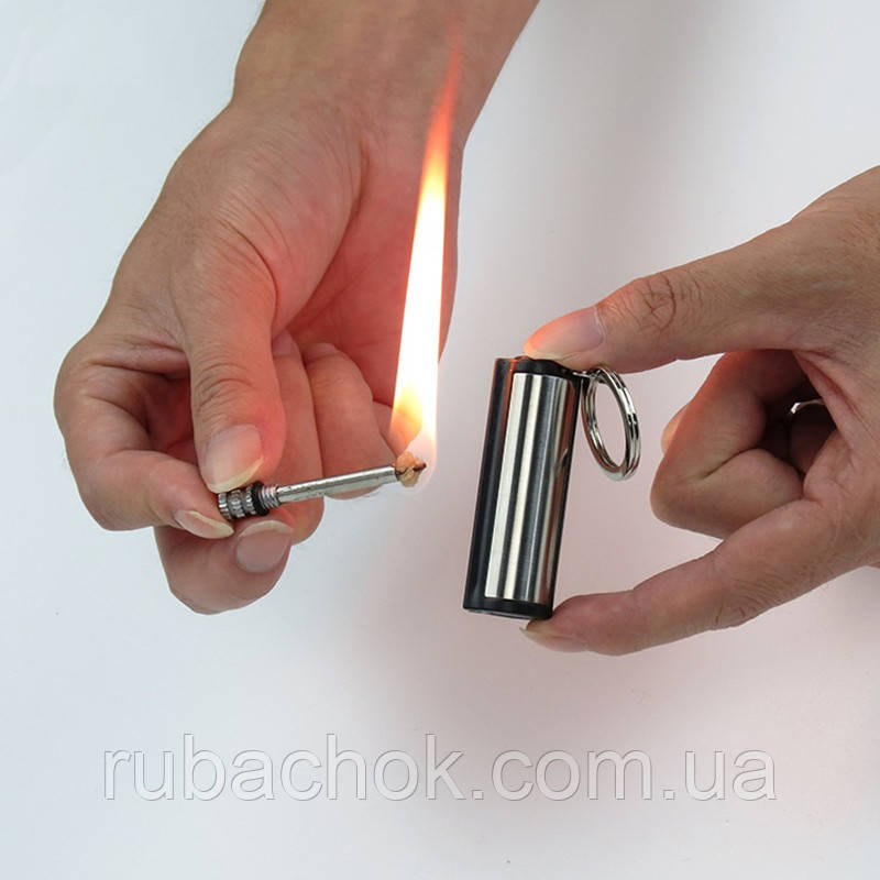 Вічна сірник запальничка кресало бензинова гасова похідна брелок