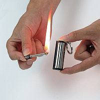 Вечная спичка зажигалка огниво бензиновая керосиновая походная брелок, фото 1