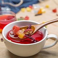 Фруктовый чай на развес, чай из фруктов, микс фруктов, вкусный чай, чай фруктовый, чай с кусочками фруктов