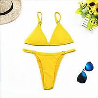 Раздельный купальник со съемными чашками (желтый), фото 1