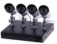 Комплект видеонаблюдения на 4 камеры RIAS AHD (2_008325)