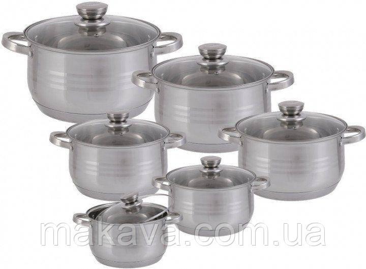 Набор посуды Edenberg EB-4037 (12 предметов)