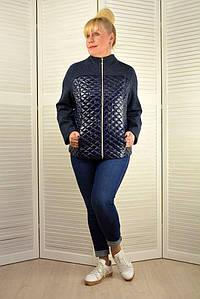 Куртка-жакет стеганная с карманами - Модель 1829