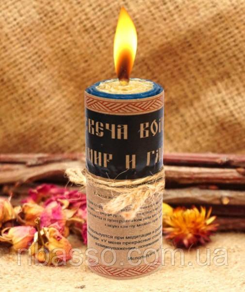 """9060055 Волшебная свеча """"Мир и Гармония"""""""