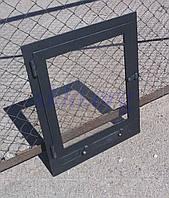 Дверь в камин 400х500 мм (без арки), фото 1