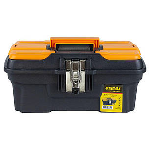 Ящик для инструмента (металлические замки) 334×187×147мм Sigma (7403651), фото 2