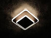 Светильник потолочный LED 8662/1S-cf-150+100 Коричневый 6х15х15 см., фото 1