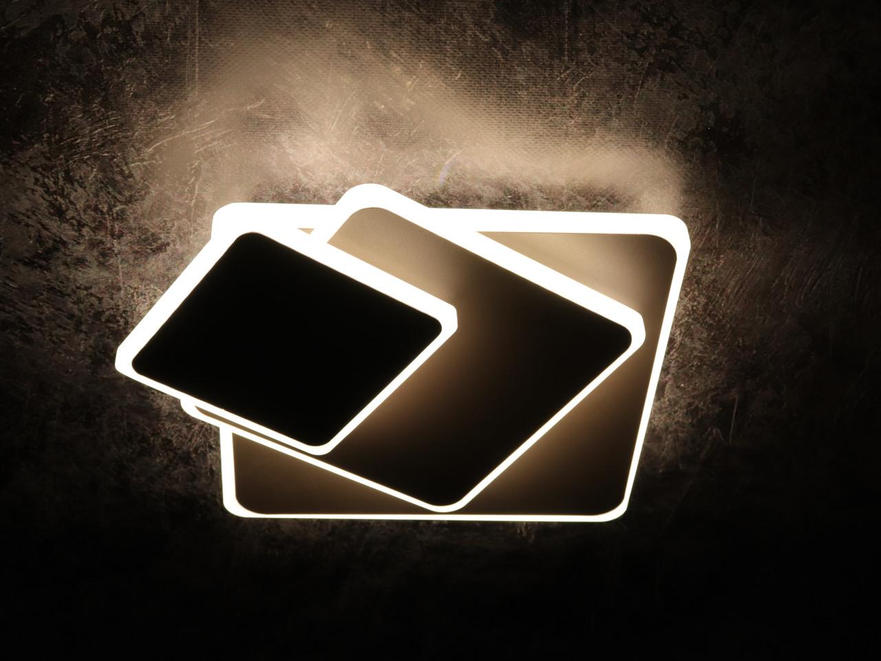 Світильник стельовий LED (7х25х40 див.) Чорний, коричневий або білий YR-8663/3F-cf