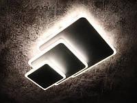 Светильник потолочный LED (7х25х40 см.) Черный, коричневый или белый YR-8663/3F-bk