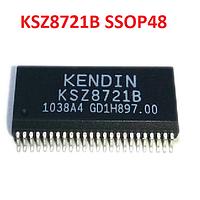 Микросхема чип Micrel Kendin KSZ8721B SSOP48 контроллер LAN 10/100Mbit