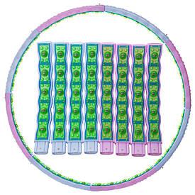 Обруч масажний Хула Хуп d-110см SP-Planeta Hula Hoop JS-6019