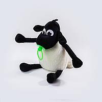 Мягкая игрушка Weber Toys Барашек Тимми 36см зеленая соска (512-1)