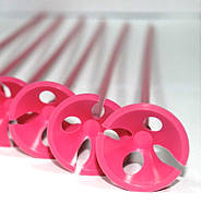 Палочка держатель для воздушного шарика розовая