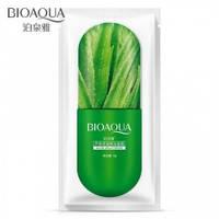 Успокаивающая маска с экстрактом Алоэ Вера, тканевая  для лица, Bioaqua, 25 ml