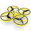 Квадрокоптер ручной дрон с сенсорным управлением жестами Drone Tracker