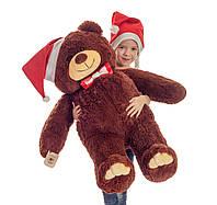 Плюшевий ведмедик Mister Medved Бурий 110 см, фото 1