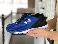 Мужские кроссовки Under Armour SpeedForm Gemini синие с черным