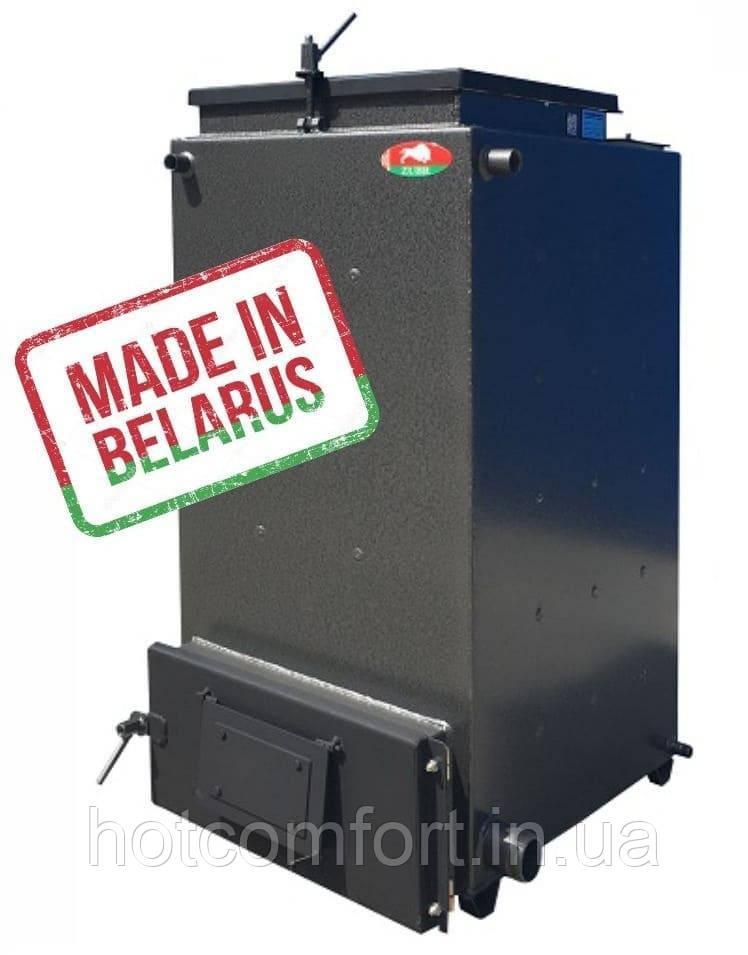 Шахтный котел Холмова Zubr 12 кВт (твердотопливный длительного горения)