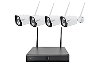 Комплект видеонаблюдения на 4 камеры RIAS W-iFi (2_008324)