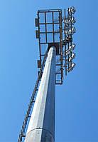 Мачта освещения для футбольного поля 24 метра